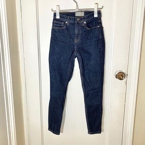 EUC Everlane High Rise Ankle Skinny Jeans